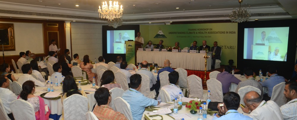 Training Workshop on Understanding Climate and Health Associations in India