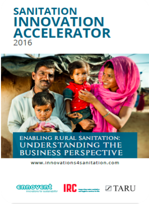 Sanitation Innovation Accelerator, 2016