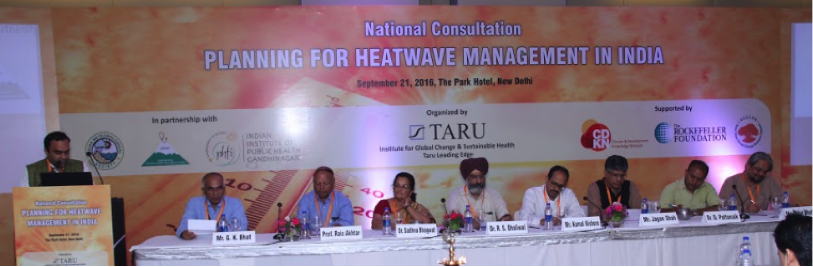 National Consultation on Roadmap for Planning Heatwave Management in India