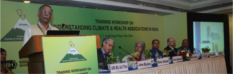 National Training Workshop on Understanding Climate and Health Associations in India