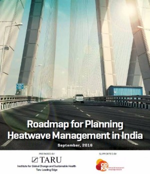 Roadmap for Planning Heatwave Management in India