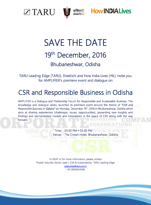 Amplifier: Partnership Forum for Responsible and Sustainable Business